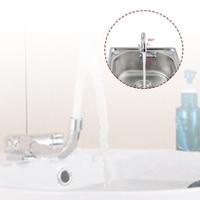 Cold&hot faucet deck kitchen camper bathroom basin faucets waterfall  basin mixer tap bath faucet sink for rv caravan boats