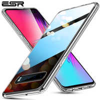 ESR funda de vidrio templado para Samsung Galaxy S10 5G funda dura de lujo con marco de TPU para Samsung s10 5G Coque Fundas
