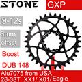 Камень круглое кольцо для Boost 148 для sram GXP 3 мм смещение X9 X0 XX1 X01 зуб 30 32 34 36 38 T зубной велосипед цепное колесо 3 мм