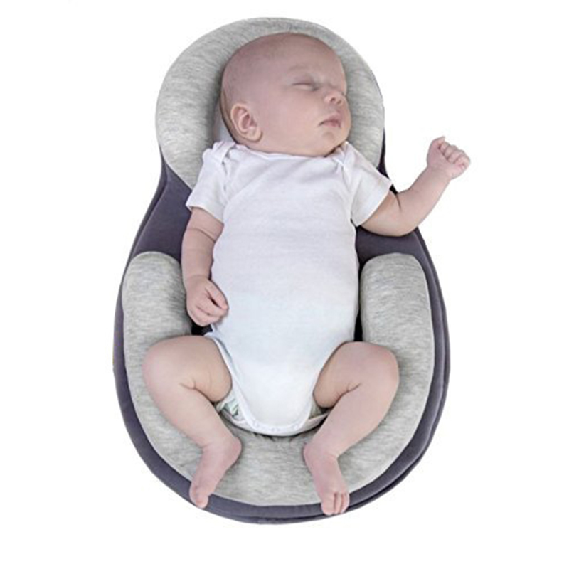 Soft And Comfortable Baby Positioning Pillow Infant Newborn Anti Rollover Mattress Pillow For 0-12 Months Baby Sleep Positioning