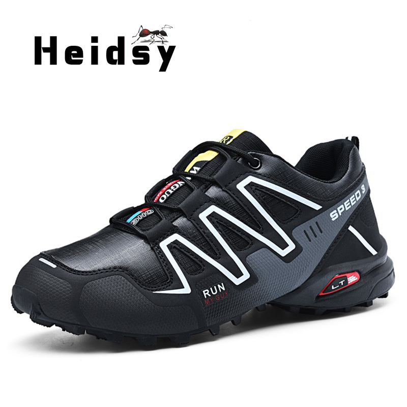 Classical Speed 3 Men Sneakers Breathable Men Casual Shoes Fashion Zapatos Para Correr PU Leather Quality Zapatos De Senderismo