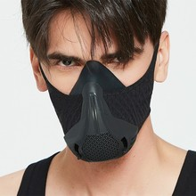 Sport-Mask Training-Conditioning Black 25-Resistance-Levels Adjusted High-Altitude
