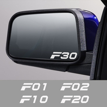 For BMW F10 F20 F30 F31 F11 F34 F01 F12 F18 F32 F33 F35 F45 F46 F82 F85 F02 Car Accessories Car Sticker Rearview Mirror Decal
