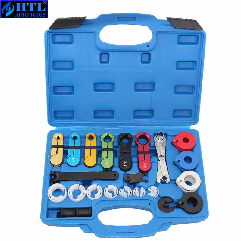 Compatible with Most Ford Chevy GM Models PT1096 Includes Scissor Type Remover Prokomon 22pcs Master Quick Disconnect Tool Kit for Automotive AC Fuel Line and Transmission Oil Cooler Line