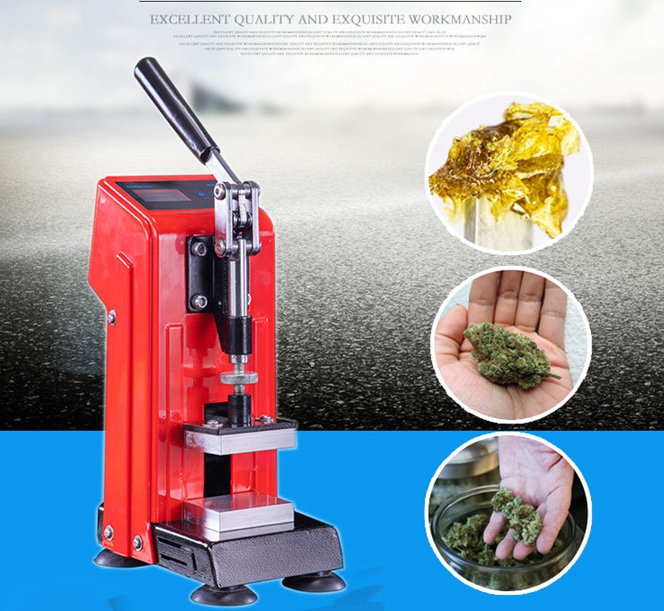 Presse à colophane Portable 0.5T, 5x7 cm, 400W, chauffage double face, haute pression et synchronisation, nouveauté et moins chère