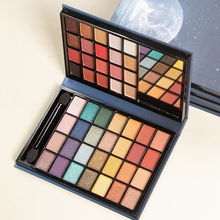 48 color vegan eyeshadow palette private label  pearly matte daily makeup  new eye shadow palettes 2020 red eyeshadow palette