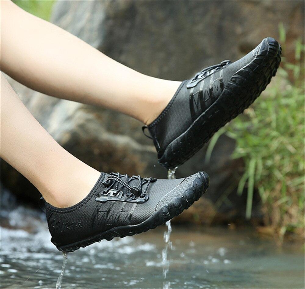 tênis de natação de secagem rápida sapatos