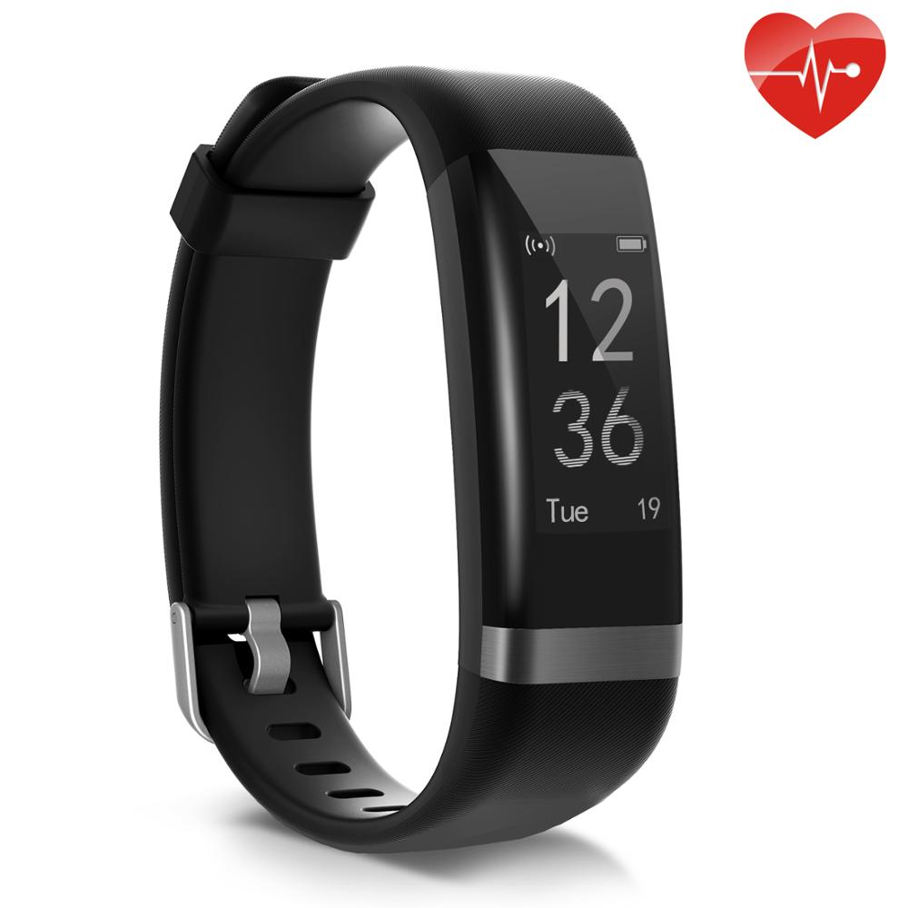 BingoFit Fitness Bracelet Smart Watches For Men Xiaomi Reloj Inteligente IOS Heart Rate Monitor Weather Pedometer Smart Bracelet