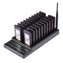 Wireless Paging Queuing Calling System food pager waiter wireless call pagers for restaurants and coffee guest pager restaurante