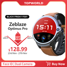 KOSPET reloj inteligente Optimus Pro 4G LTE, 3GB + 32GB, control de frecuencia cardiaca por WIFI, cámara de 8MP, sistema Dual, teléfono GPS, Android