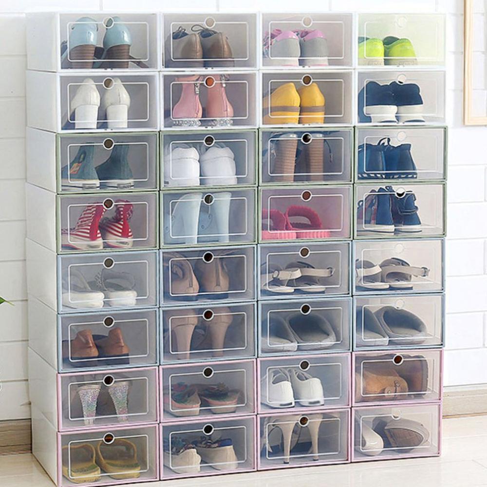 Shoe Cabinet Shoes Box Thickened Transparent Drawer Case Plastic Shoe Boxes Stackable Box Shoe Organizer Shoe Storage Shoe Rack Flash Sale 3ba7c9 Cicig