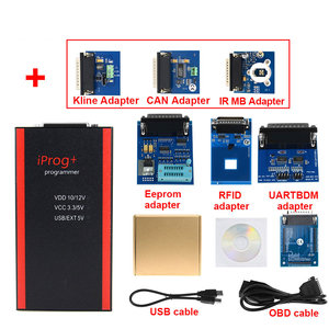 Image 3 - 최고의 품질 V85 Iprog + 키 프로그래머 지원 IMMO + 마일리지 수정 + 에어백 재설정 Iprog Pro 2019 년까지 Carprog 교체