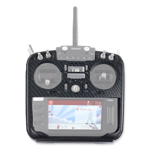 Image 5 - JMT coque de protection en Fiber de carbone RC émetteur panneau avant de haute qualité pour cavalier XYZ série T16 PLUS Pro contrôleur Radio TX