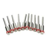 10 Stks/set 3.0Mm Handvat/Stalen Schroef Doorn Shank Cutter-Off Houder Roterende Accessoires Gereedschap