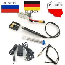 24V Original Mini TS100 Portable Soldering Iron Station Kit Digital OLED Display Adjustable