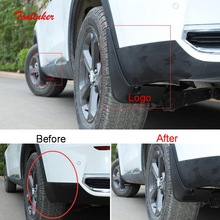 Tonlinker Exterior Wheel Special Mudguard Cover Stickers for Haval F7/F7X 2018 19 Car Styling 2/4 PCS ABS Plastic Cover stickers