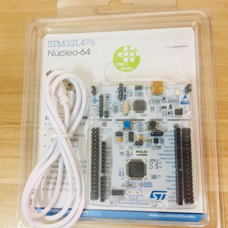1 Pcs X NUCLEO-L476RG ARM STM32 Nucleo Development Board With STM32L476RGT6 MCU, Supports NUCLEO L476RG
