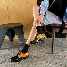 Osunlina модные оксфорды на плоской подошве с круглым носком
