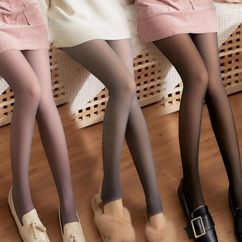 Kaminsky 1PC Sexy Women Pantyhose Tights Summer Nylon Seamless Stockings Seamless Mesh Female Super Elastic Silk Medias Hosiery image