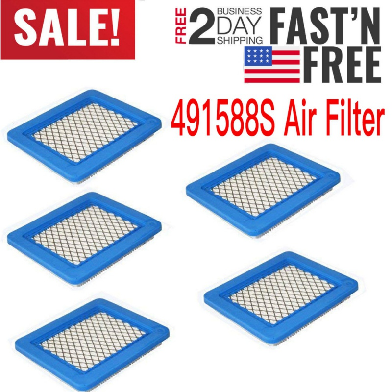 Cleaner For 491588 Replacement-Accessories Cartridge Lawn-Mower AIR-FILTER 399959