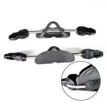 TSMC 2PCS Diving Equipment Scuba Diving Stainless Steel Spring Fin Straps Diver Heel Straps gear Drop Shipping