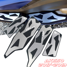 Foot-Pegs Kymco Ak Motorcycle Motorbikes-Pedal Front for AK550 Floorboards And Step Rear