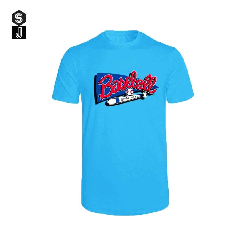 2020 verão dos homens camiseta do vintage manga curta lazer o pescoço camisa de beisebol impressão masculina muscle fitness t camisa masculina topo