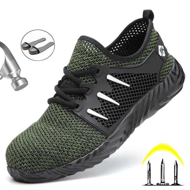 Work safety boots Lightweight Steel Toe