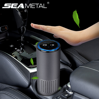 Car Air Purifier Air Cleaner Negative Ion HEPA Filter Fresher Portable USB Car Ion Purifier Auto Accessories for Travel Purifier