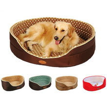 Pet Beds Double Sided Big Size Extra Large Dog Bed House Available All Seasons Sofa Kennel Soft Fleece Cat Warm S-L