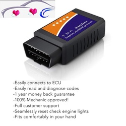 Nowy Elm327 Wi-fi OBD2 V1.5 diagnostyczny samochód Auto skaner z najlepszym Chip Elm 327 wifi obd nadaje się do IOS Android/iPhone Windows