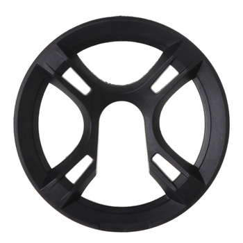 Bicycle Chain Wheel Cover Plastic Plate Protective Guard Pivot Crank Accessories 77HC image
