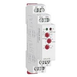 GRL8 kontroler poziomu wody przekaźnik cieczy 10A AC DC 24V 220V szeroki zakres napięcia przekaźnik pompy wody  GRL8 02 w Adaptery AC/DC od Elektronika użytkowa na