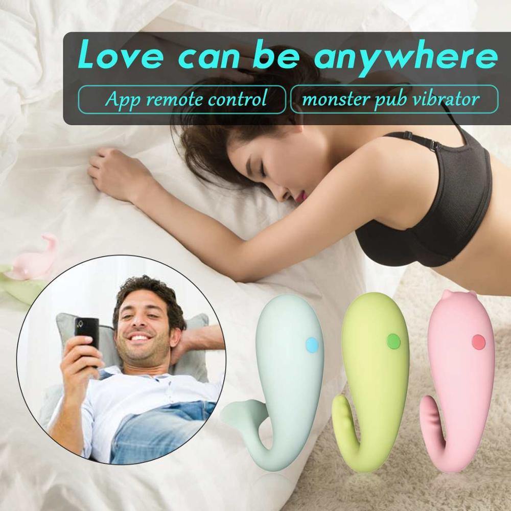 Силиконовый вибратор для паба монстра приложение дистанционное управление Bluetooth беспроводной Массаж точки G для взрослых секс игрушки USB зарядка игрушка для взрослых Вибраторы      АлиЭкспресс