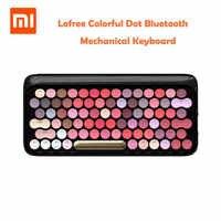 Xiaomi Lofree Drahtlose Bluetooth Mechanische Tastatur Blüte Version Charming Bunte Lippenstift Gaming Tastatur Mit Led-hintergrundbeleuchtung