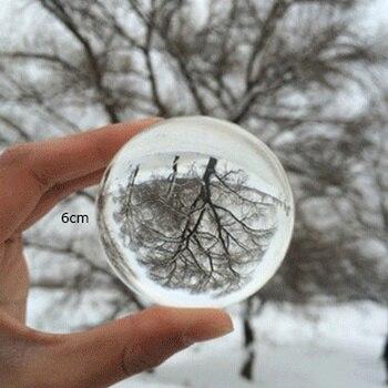 9 centimetri Trasparente Cyrstal Lensball Fotografia Decorazione Acrobazie Creativo Regalo Di Compleanno del Mestiere Della Decorazione Feng Shui Palle Decorative