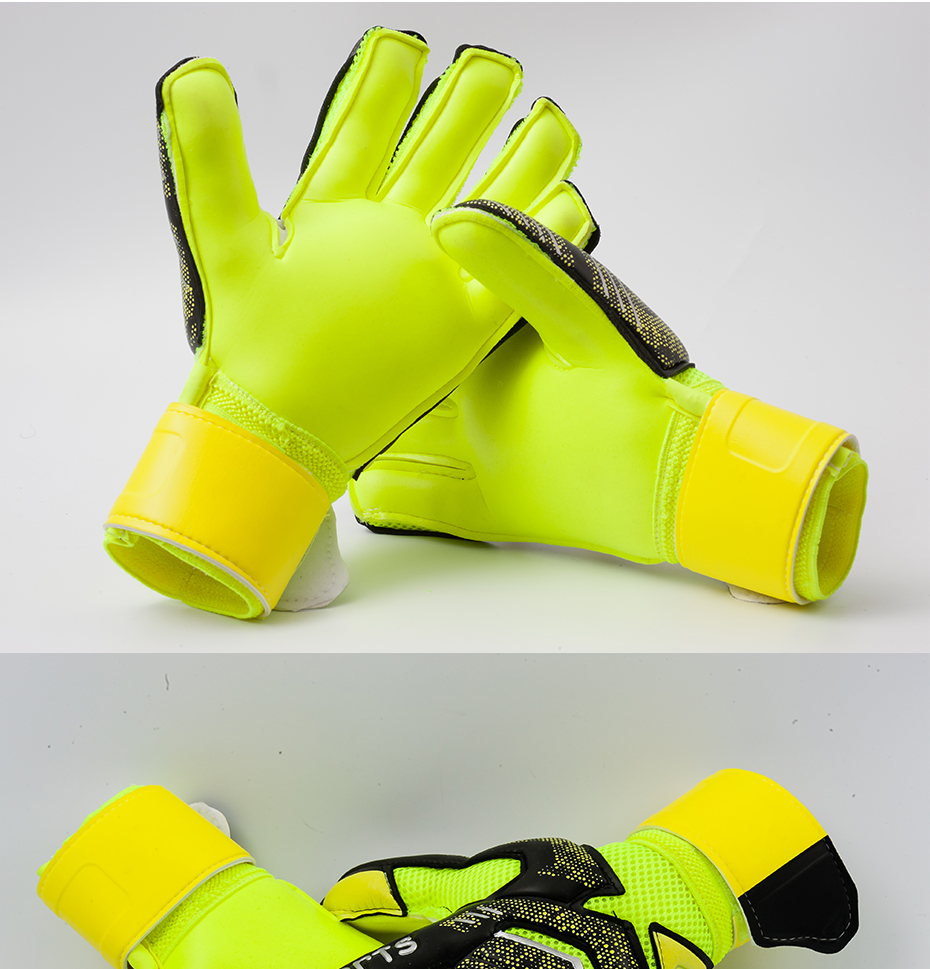 Professional Goalkeeper Gloves With Finger Protection 12
