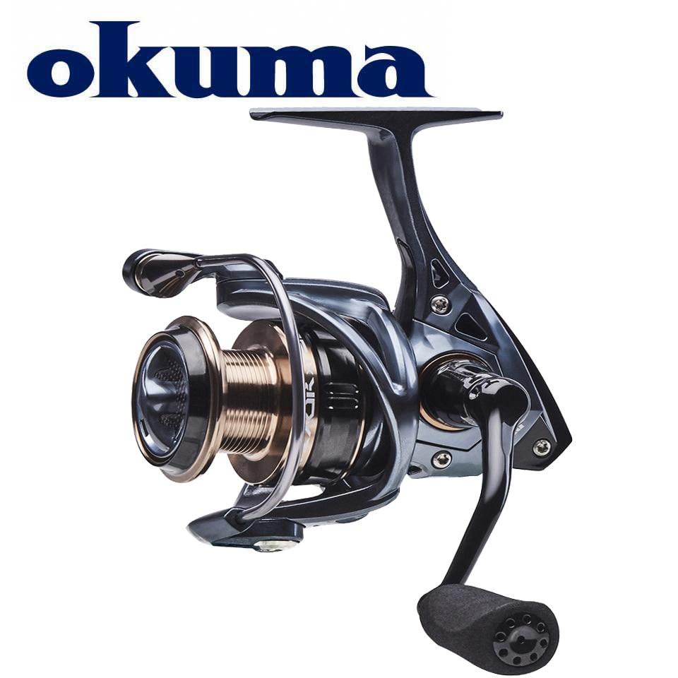 Рыболовная спиннинговая катушка OKUMA EPIXOR XT, 7BB + 1RB, подшипники из нержавеющей стали, 5-12 кг, мощный коррозионно-стойкий графитовый корпус/Ротор