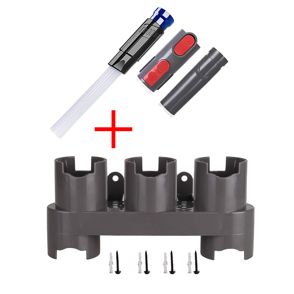 US $4 68 20% OFF|Storage Bracket Holder for Dyson V7 V8 V10 Absolute Vacuum  Cleaner Parts Brush Stand Tool Nozzle Base Docks Station Accessories-in