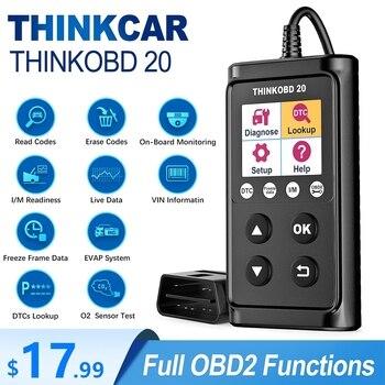 THINKCAR THINKOBD 20 OBD2 Car Auto Diagnostic Tool scanner Professional OBD 2 Scanner automotivo Code Reader Check Engine Light