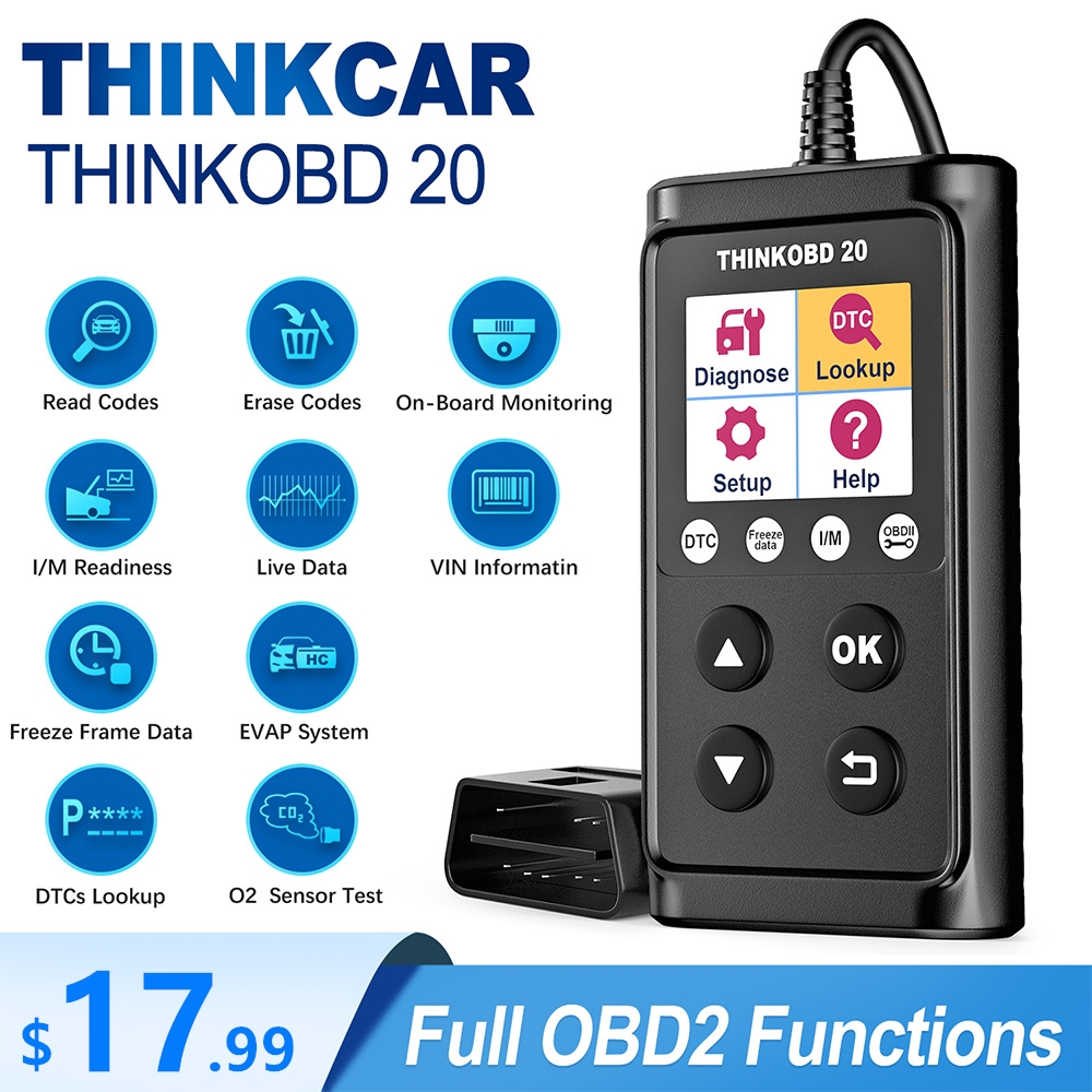 THINKCAR THINKOBD 20 OBD2 Car Auto Diagnostic Tool scanner Professional OBD 2 Scanner automotivo Code Reader Check Engine Light
