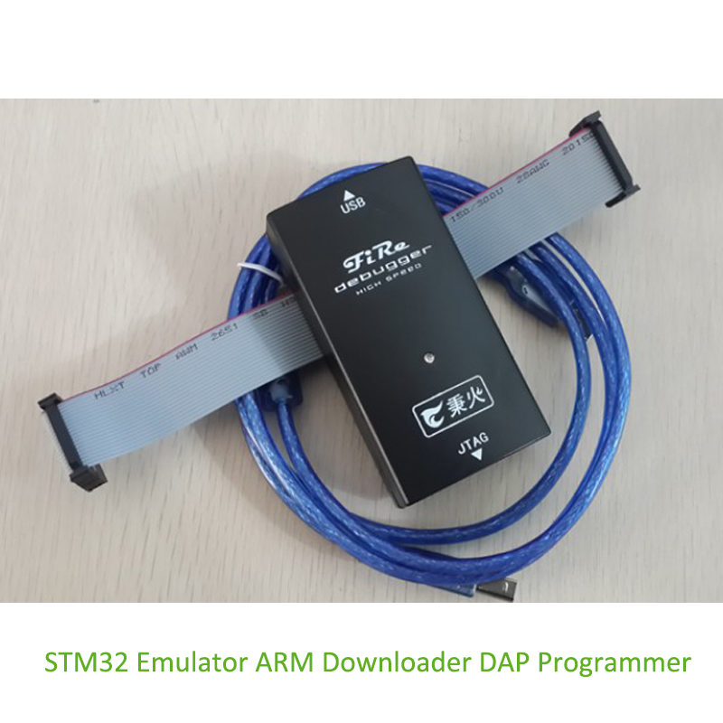 Fire-Debugger ARM Downloader STM32 Emulator DAP Programmer Support JTAG SWD