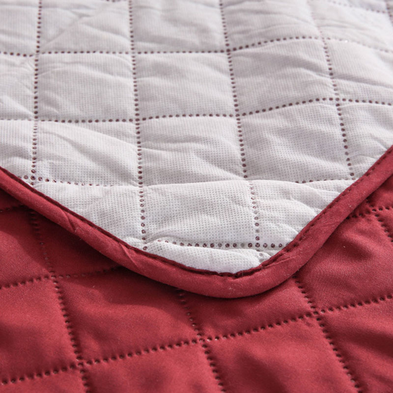 Quilted Anti-wear Sofa Covers for Dogs Pets Kids Anti-Slip Couch Recliner Slipcovers Armchair Furniture Protector 1/2/3 Seater 3