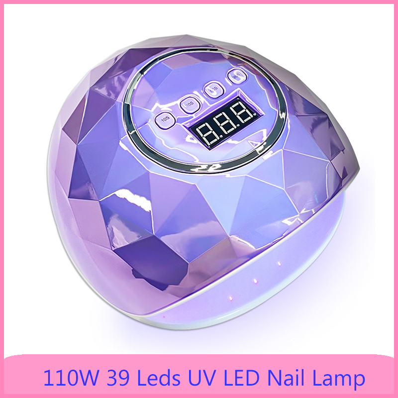 Colorful F6 UV LED Nail Lamp with 39 Leds Lamp For Manicure Apparatus Nail Polish Lamp Auto Sensor Manicure Tools Gel Nail Dryer