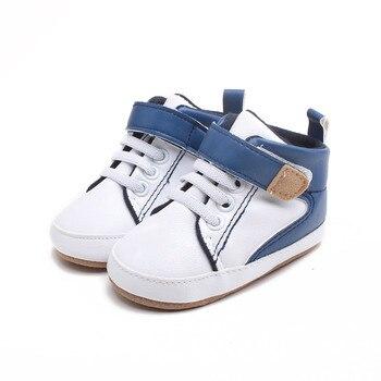 Nuevo bebé de moda de alta superior transpirable antideslizante Zapatos de niño...