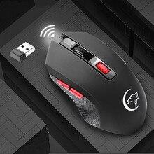 USB Drahtlose Maus 2400DPI USB 2,0 Receiver Optische Computer Maus 2,4 GHz Ergonomische Mäuse Für Laptop PC Sound Stille maus