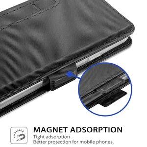 Image 5 - עבור OnePlus 8 8 פרו מקרה עור מפוצל Flip דוכן מגנטי אבזם מראה ארנק כיסוי עבור Oneplus 7 t 7 t פרו מקרה כרטיס חריצי כיס