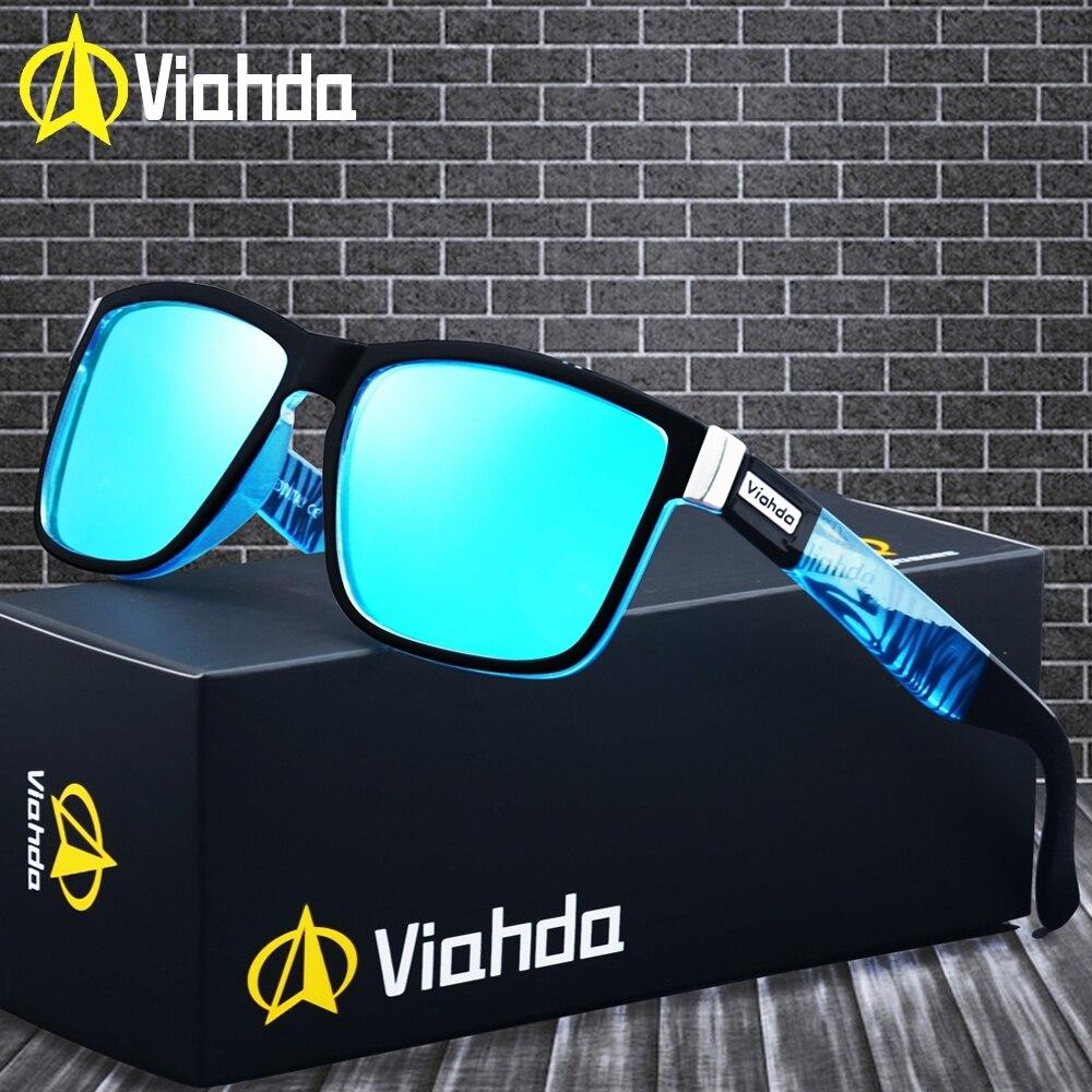 Viahda 2019 Popular Marca Polarizada óculos de Sol Óculos de Sol Do Esporte Óculos de Sol Para As Mulheres Gafas de sol de Viagem