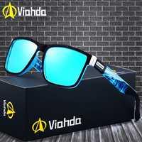 Viahda 2019 marque populaire lunettes De soleil polarisées Sport lunettes De soleil lunettes De soleil pour les femmes voyage Gafas De Sol