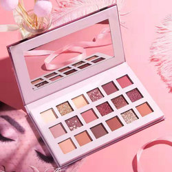 Producto en oferta, paleta de sombras de ojos de 18 colores, herramienta de maquillaje, paleta de sombras de ojos nacaradas